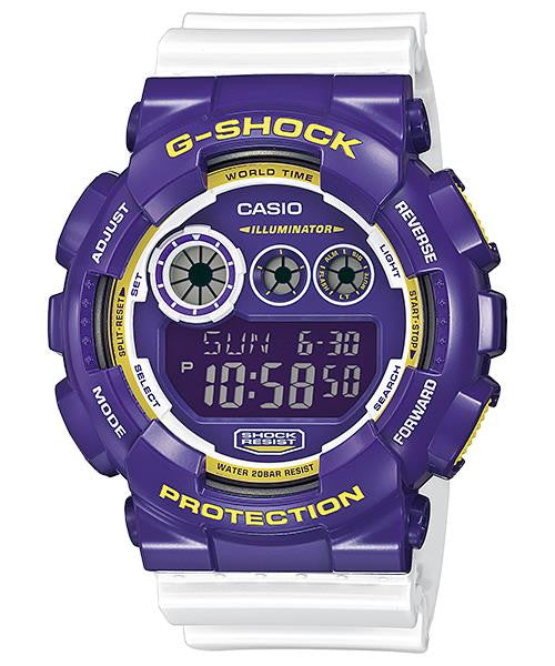 Casio G-Shock 200M Super Illuminator Flash Alert GD-120CS-6 Watch (New with Tags)