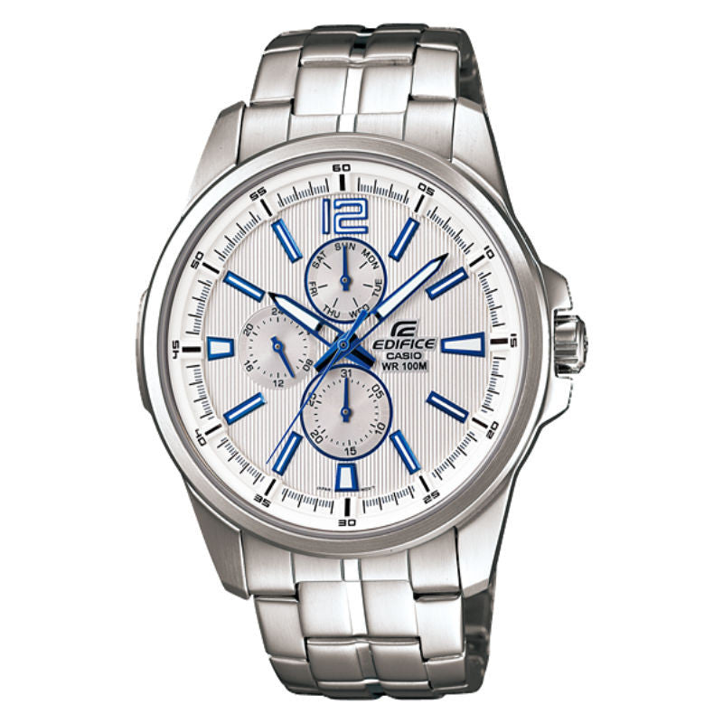 Casio Edifice Multi-Hand EF-343D-7A Watch (New With Tags)