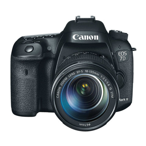 Canon EOS 7D II with 18-135mm f/3.5-5.6 STM Lens Digital SLR Camera (Kit)