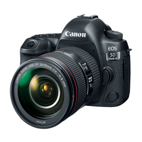 Canon EOS 5D Mark IV with EF 24-105mm f/4L IS II USM Lens Black Digital SLR Camera (Kit)