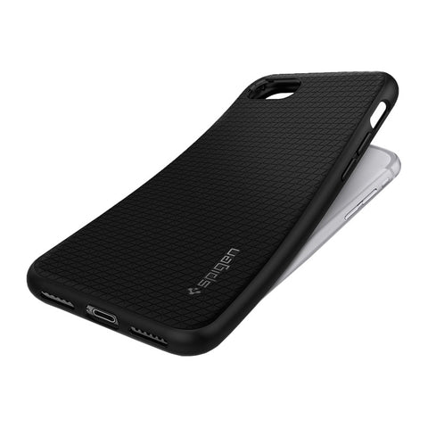 Carbon Fiber Protective Shell Case for iPhone 7 (Classic Black)