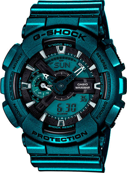 Casio G-Shock Neo Metallic Series GA-110NM-3A Watch (New with Tags)