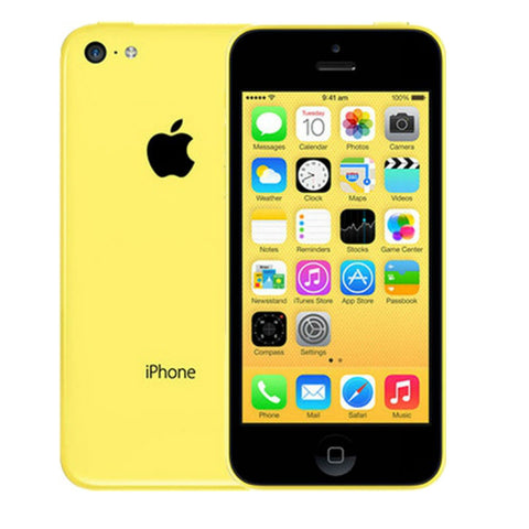 Apple iPhone 5C 16GB 4G LTE Yellow Unlocked (Refurbished - Grade A)