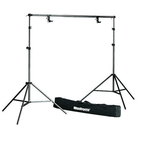 Manfrotto 1314B Photo Stand, Support, Bag and Spring Complete Set