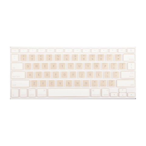 Keyboard Protection Membrane 12 Inch for Macbook (Gold)