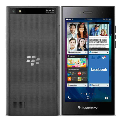 Blackberry Leap 8GB 4G LTE Black Unlocked