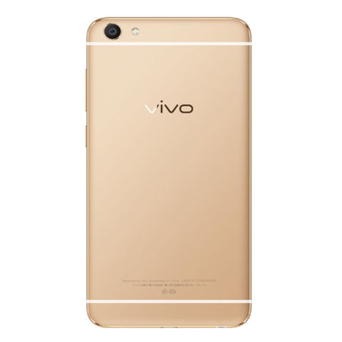 Vivo X7 Plus Dual 128GB 4G LTE Gold Unlocked (CN Version)