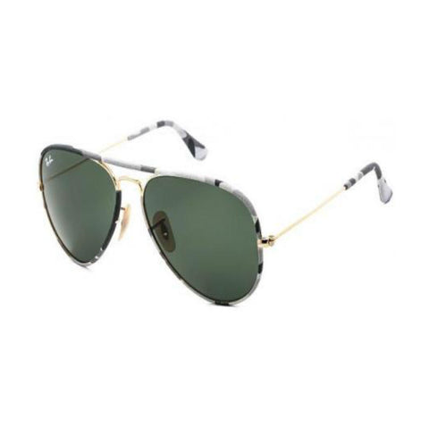 Ray-Ban RB3025JM Aviator Camouflage (171) (Size 58)