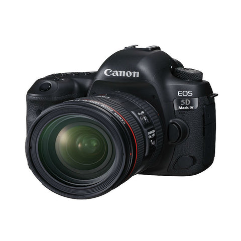 Canon EOS 5D Mark IV with EF 24-70mm f/2.8L II USM Lens Black Digital SLR Camera