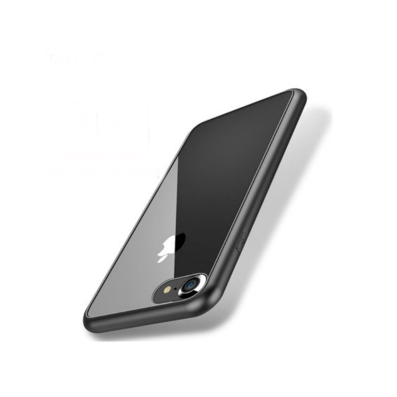 Soft Shell Drop Resistance Case 4.7 inch for iPhone 7 (Black Steel)