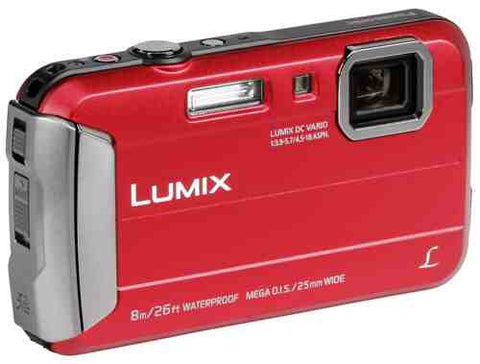Panasonic Lumix DMC-FT30 (Red)