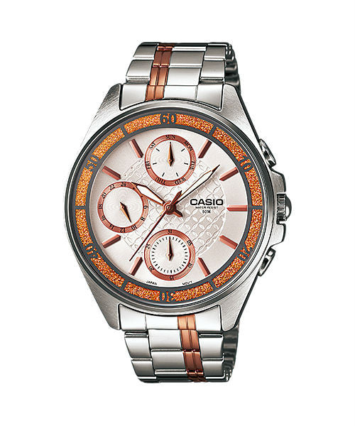 Casio Enticer LTP-2086RG-7AV Watch (New with Tags)