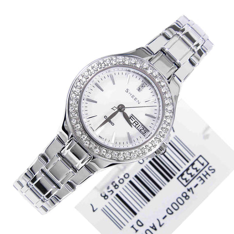 Casio Sheen SHE-4800D-7A Watch (New with Tags)