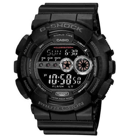 Casio G-Shock Standard Digital GD-100-1B Watch (New With Tags)