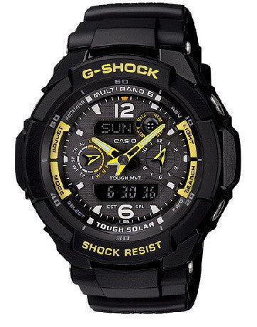 Casio G-Shock G-Aviation GW-3500B-1A Watch (New With Tags)