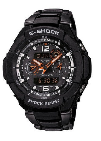 Casio G-Shock G-Aviation GW-3500BD-1A Watch (New With Tags)