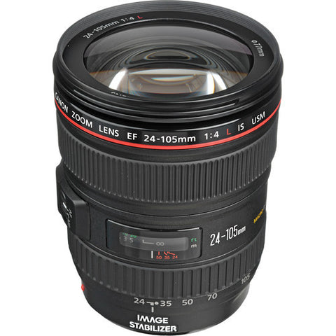 Canon EF 24-105mm f4.0L IS USM Lens (White Box)