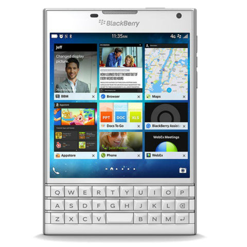 Blackberry Passport 32GB 4G LTE White Unlocked