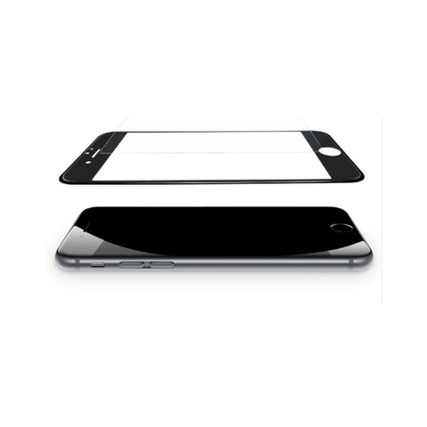 Steel Membrane Soft Edges Blu-ray Full-screen 3D Covering Film for Iphone 7 Plus (Black)