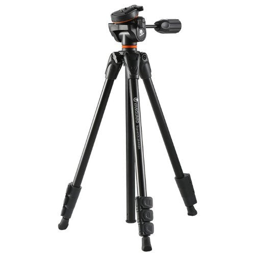 Vanguard Aluminum Tripod Espod CX 204 AP wth PH-23 Pan Head (Black)