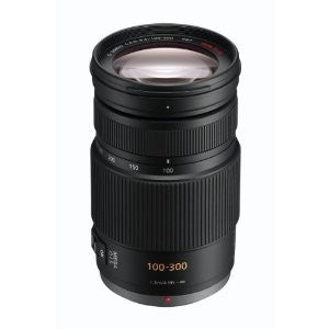 Panasonic Lumix G Vario 100-300mm f4-5.6 OIS Black Lens