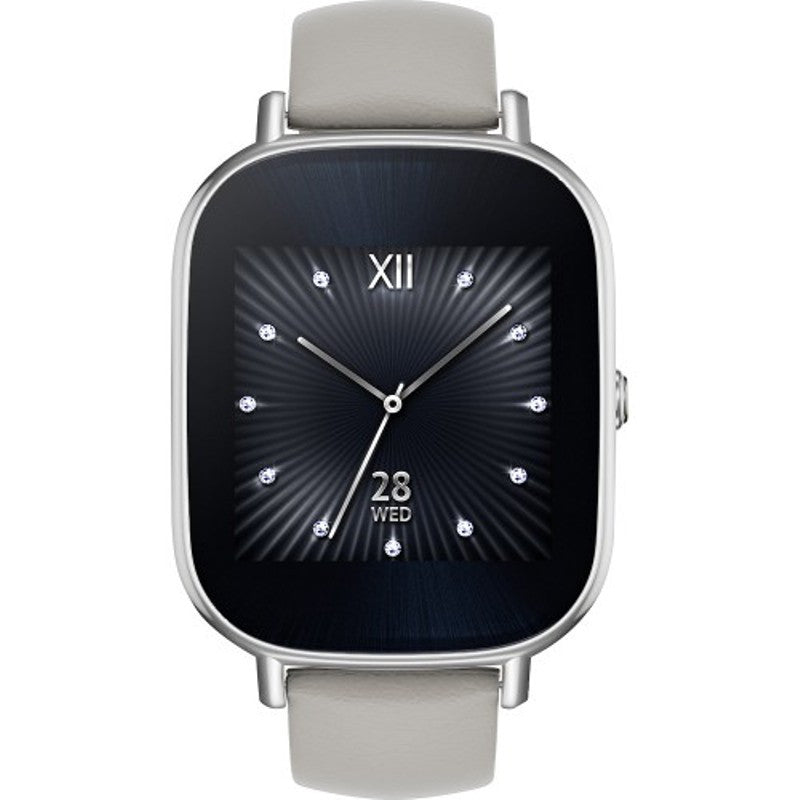 Asus WI502Q Zen Watch 2 Leather (Silver)
