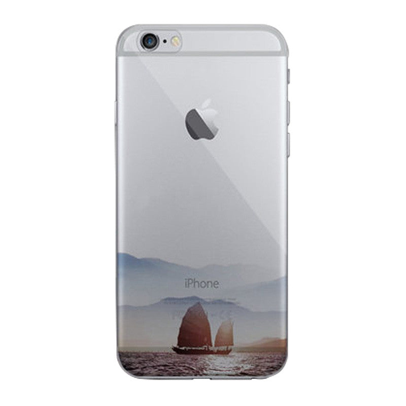 Hard Transparent Case 4.7 inch for iPhone 6/6S (Sail Wanli)