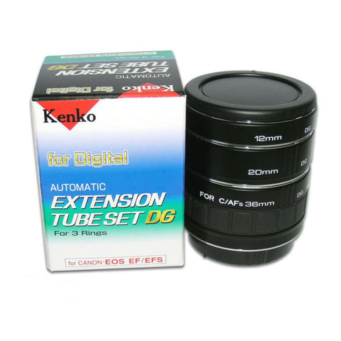 Kenko Automatic Extension Tube Set for Canon