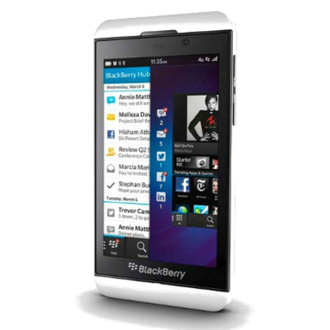 Blackberry Z10 4G LTE White (STL100-4) Unlocked