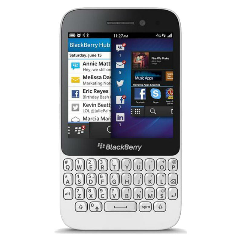 Blackberry Q5 3G White Unlocked