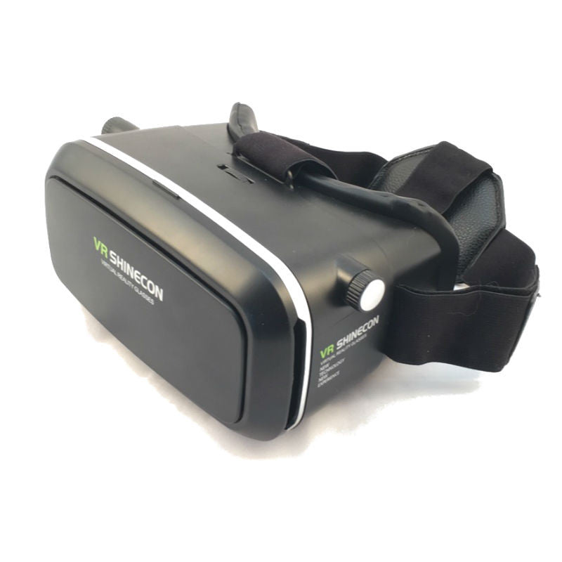 VR Shinecon Virtual Reality Headset 3D Goggles (Black)