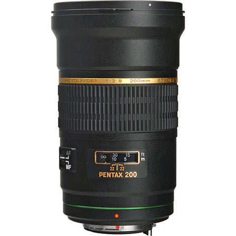 Pentax smc DA* 200mm f2.8 ED IF SDM Black Lens