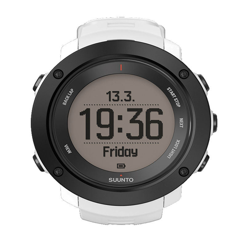 Suunto Ambit3 Vertical HR GPS Multisports Watch SS021966000 (White)
