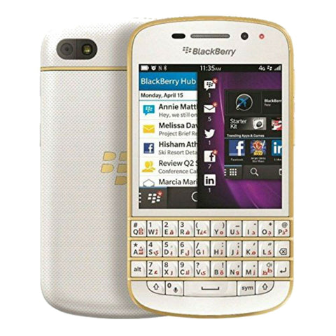 Blackberry Q10 4G LTE Gold Unlocked