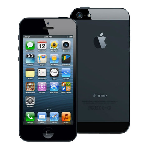 test Apple iPhone 5 16GB 4G LTE Black Unlocked (Refurbished - Grade A)