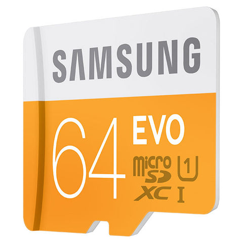 Samsung T-Flash Evo 64GB MicroSDHC Class 10 (MB-MP64DA) Memory Card