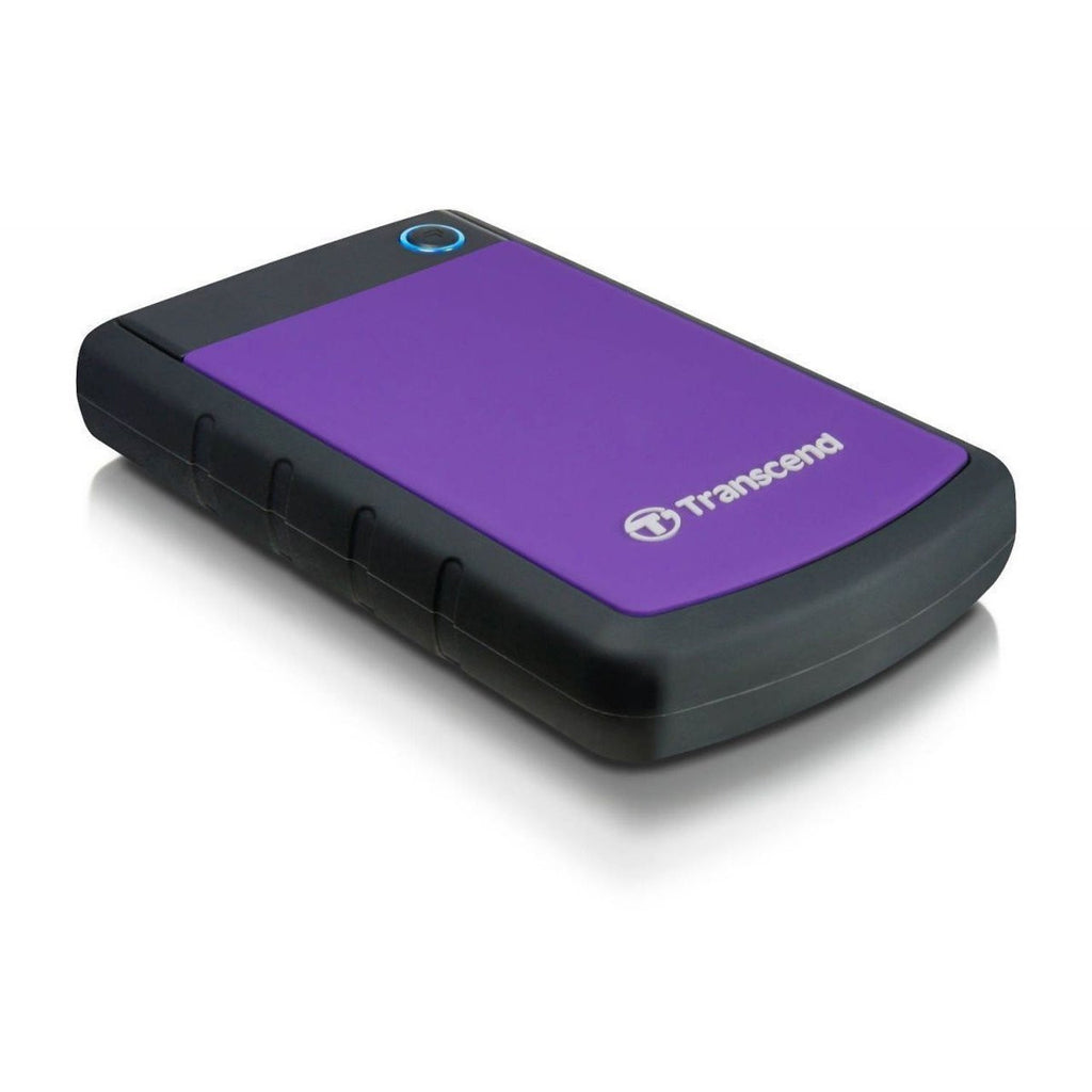 Transcend Storejet 25H3 500GB External Hard Drive TS500GSJ25H (Purple)