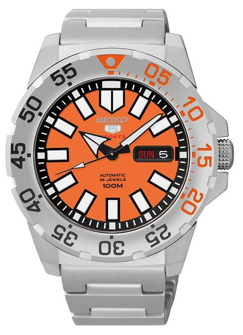 Seiko 5 Sports Automatic SRP483 Watch (New with Tags)