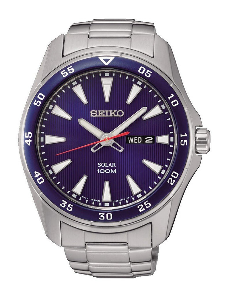 Seiko Solar SNE391 Watch (New with Tags)