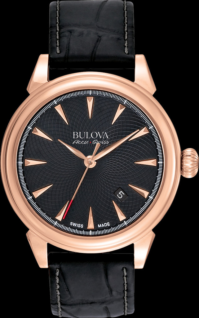 Bulova AccuSwiss Gemini Analogue 64B123 Watch (New with Tags)