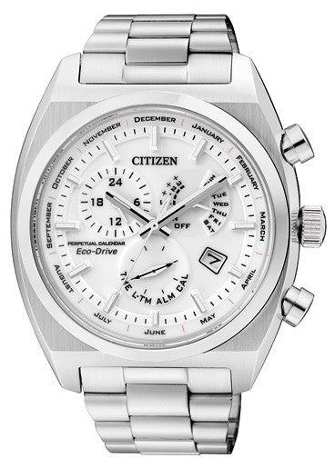 Citizen Eco-Drive Perpetual Calendar BL8130-59A Watch (New with Tags)