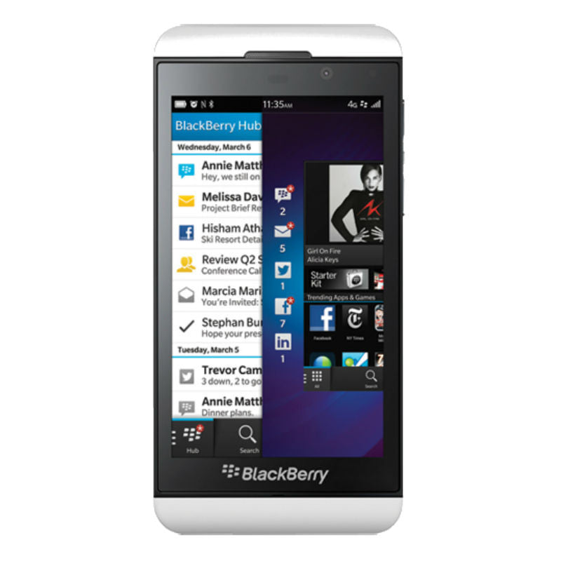 Blackberry Z10 4G LTE White Unlocked