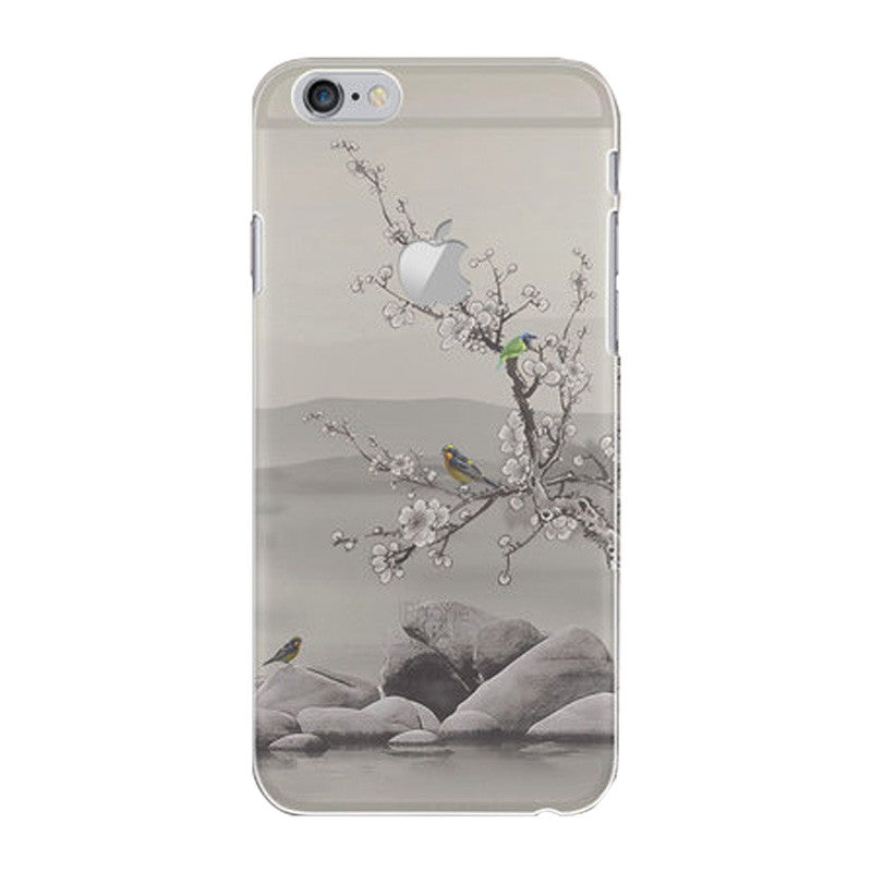 Hard Transparent Case 4.7 inch for iPhone 6/6S (Flowers Speechless)