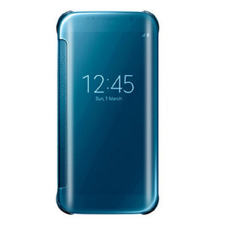 Smart Cover Phone Shell with Clip for Samsung S7 Edge (Ice Jade Blue)