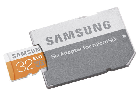Samsung T-Flash Evo 32GB MicroSDHC Class 10 (MB-MP32DA/A) Memory Card with Adapter