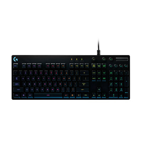 Logitech G810 Orion Spectrum Gaming Keyboard (Black)