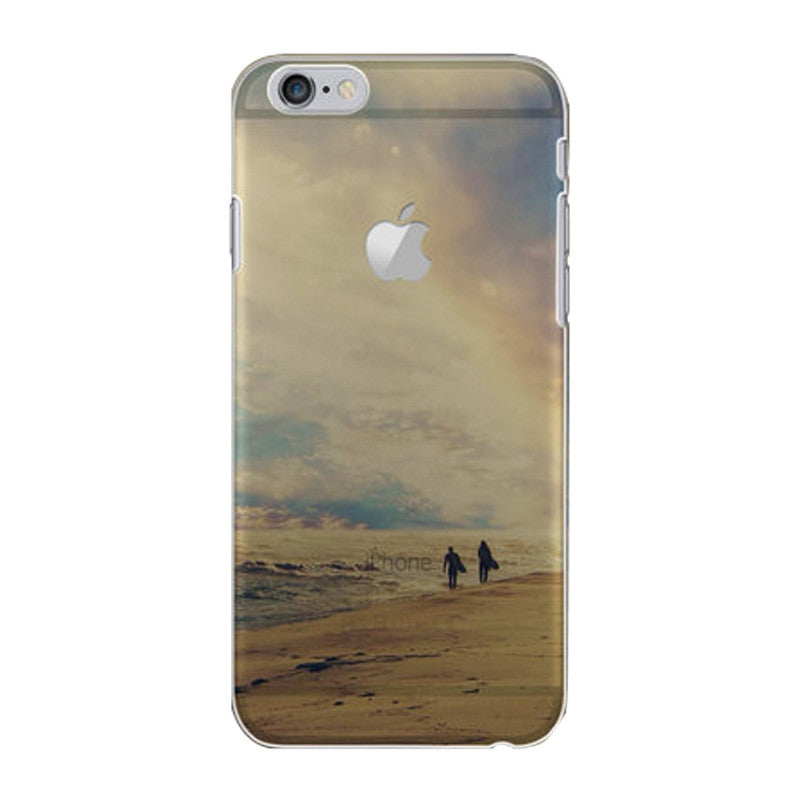 Hard Transparent Case 4.7 inch for iPhone 6/6S (Sunset)