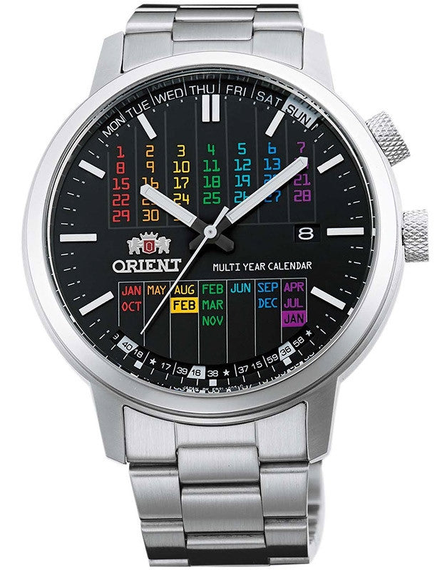 Orient Multi Year Calendar FER2L003B0 Watch (New with Tags)