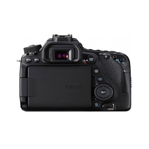 Canon EOS 80D with 18-200mm Black Digital SLR Camera