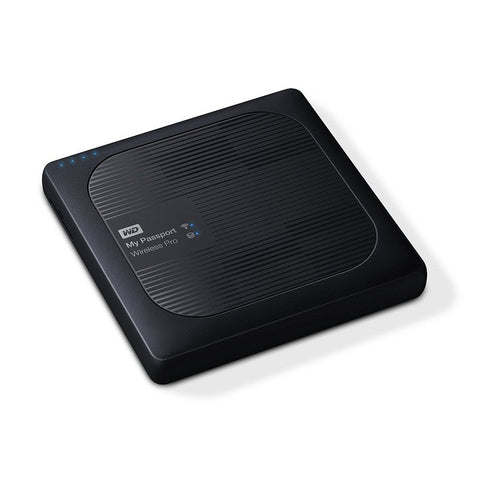 WD My Passport Wireless Pro 3TB External Hard Drive (Black) WDBSMT0030BBK-CESN